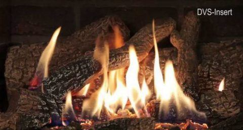 Gas Fireplace Insert Logs