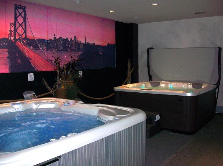Hot Tub Wet Test Room San Mateo