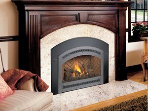 FPX DVL GSR2 NB Fireplace Inserts Installed