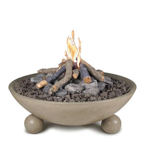 "40"" Versailles Fire Bowl with Ball Feet"