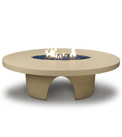 Elliptical Dining Firetable