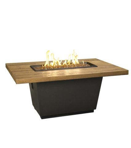 Fresh Barrel Oak Cosmopilitan Rectangle Firetable
