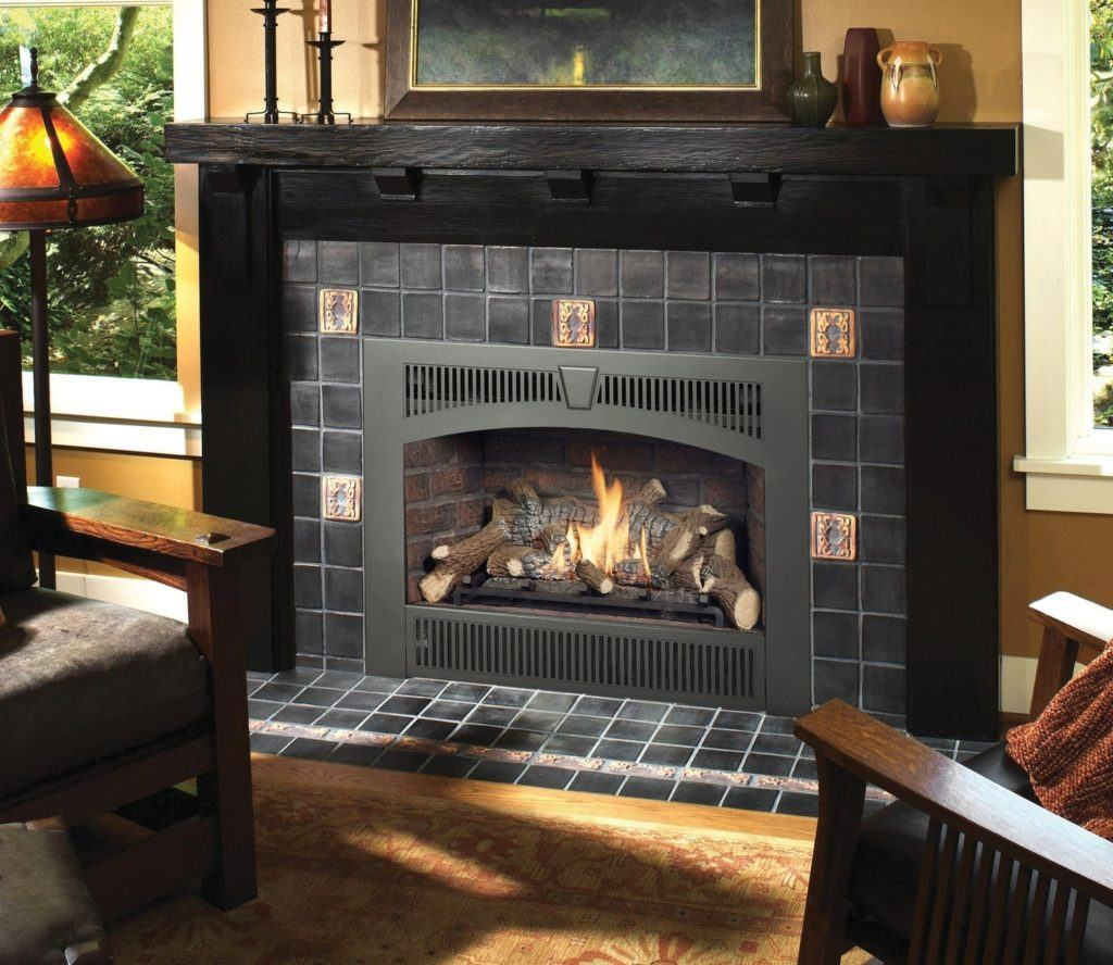 deluxe high output luxury fireplace unit