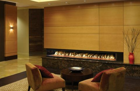 corner wall unit fireplace