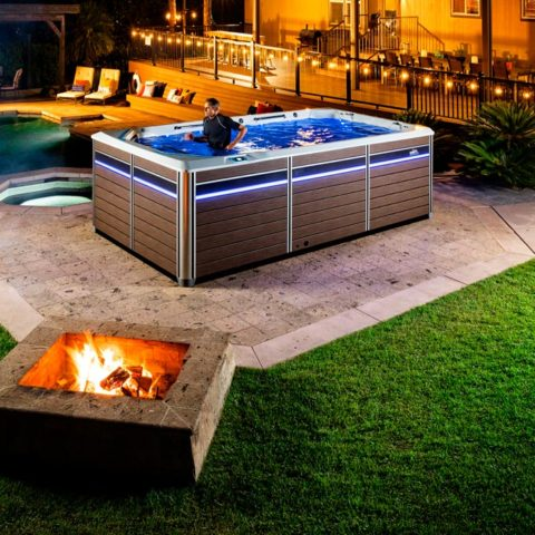 Endless Pools Swim Spas E550