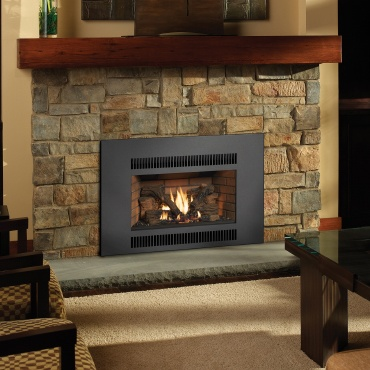 Radiant Large Gas Fireplace Insert