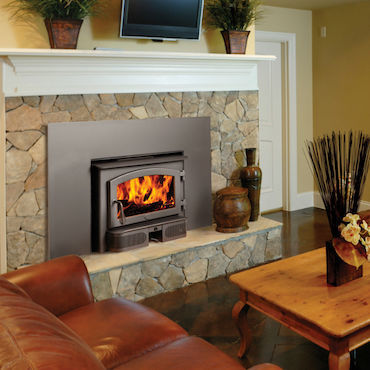 Lopi fireplace unit
