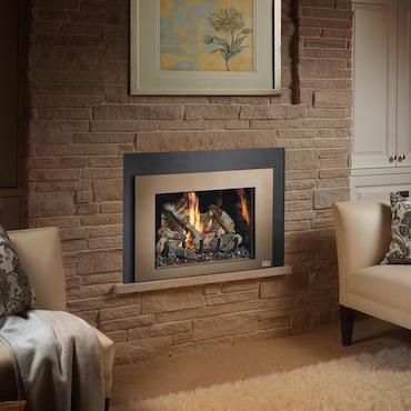 Luxury fireplace wall unit