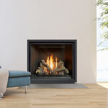 wall unit fireplace insert
